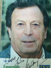 6x4 Hand Signed Photo Emmerdale Tom King - Ken Farrington