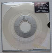 "METALLICA The Unforgiven SEALED 1993 FRANCE 7"" Clear Vinyl 45 + HYPE STICKER"