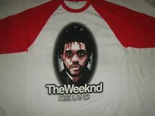 XO THE WEEKND Unisex KISS LAND   UK TOUR T-shirt TOP New WHITE SMALL