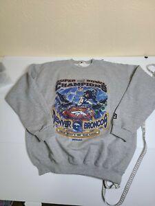 Vintage 1999 Starter Denver Broncos Super Bowl Official Sweatshirt Sz XL