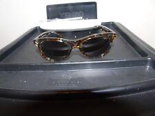 KENZO Womens Ecaille Round Havana Animal Pattern 50mm Sunglasses 132138 KZ3173