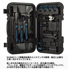 NEW Shimano PRO Bike Gear 22-Piece Mechanic Tool Kit with Hard Travel Case