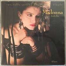 "MADONNA - Borderline / Lucky Star - 12"" Single (Vinyl LP) Sire 20212"
