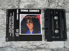 DONNA SUMMER - Self Titled (UK)  / Cassette Album Tape /3320
