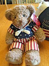 Russ Berrie George Washington Celebrate America Plush Stuffed Teddy Bear Toy
