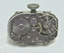 Antique Vintage Gloriosa 17j 17 Jewel  Wrist Watch Movement Parts Repair #W222