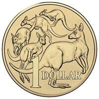 2017 Australia, Choice $1 ONE DOLLAR COIN from Royal Australian Mint Roll