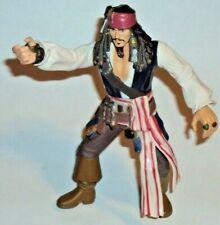 """Pirates of the Caribbean Captain Jack Sparrow 7"""" Action Figure Zizzle Disney"""