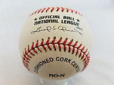 Rawlings Official MLB National League Baseball w/ box- Leonard Coleman President