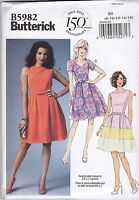 Butterick Easy Sewing Pattern Misses' Dress Skirt with variations 6 - 22 B6016