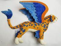 "Disney Store Elena of Avalor Skylar Flying Jaguar Plush Stuffed Animal 14"""
