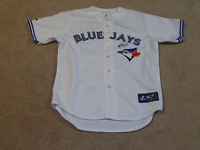 R.A. Dickey Signed Authentic Home Game Jersey Toronto Blue Jays Braves