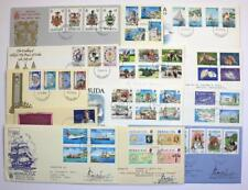 Bermuda Covers. First day covers from Collection. 1980's.