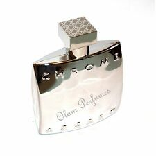 Azzaro Chrome (Chrome bottle) 3.4oz 100ml Edt Spray New + 2 Bonus Free
