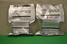 Genuine Inks  Epson 2 x  ( S020108 S020189 T0511) Black Cartridges