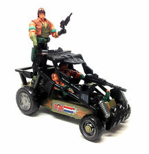 Hasbro toys Action Force GI JOE Two Man Jeep Toy vehicle with 2 figures