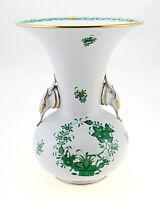Vintage Herend Indian Basket Vase
