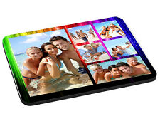 Personalised Photo Collage Effect Mouse Mat, Pad 220mm x 180mm, 5mm Thick