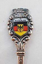 Deutschland German Silver Souvenir Collector Spoon D11