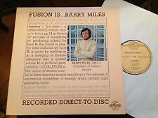 LP Barry Miles * Fusion is... * Audiophile Direct to Disc Century NM