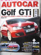 AUTOCAR 04/05/04 VAUXHALL MONARO VW GOLF GTI TVR TUSCAN PORSCHE 911 NOBLE M400