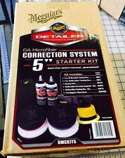 Meguiar's DMCKIT5 DA Microfiber Correction System Kit NEW