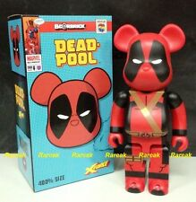 Medicom Be@rbrick 2014 Marvel DC Comic Dead Pool 400% X-Force Deadpool Bearbrick