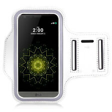 Accessory Case Cover Wallet Sport Armband white for Seri LG