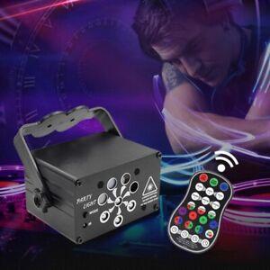 240 Muster Lichteffekt UV LED Laser DJ Projektor Disco Party Bühnenbeleuchtung