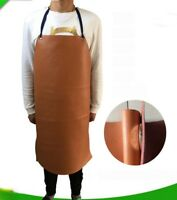 Top Cow Leather Welding Apron Bib Soldering Blacksmith Protective Cover Tool