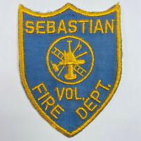 Sebastian Volunteer Fire Department Florida FL Patch (E5)