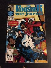 The Punisher:War Journal#14 Incredible Condition 9.4(1990) Spider-Man App!!