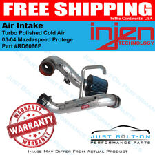 Injen Fits 03-04 Mazdaspeed Protege Turbo Polished Cold Air Intake RD6066P