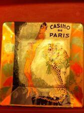 Josephine Baker Casino de Paris Collector Medium Glass Plate Signed, Numbered