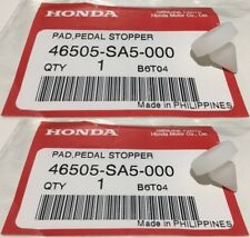 2 PCs Genuine OEM Honda Brake Clutch Rubber Pedal Stop Stopper Pad Accord Civic