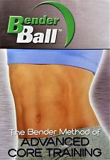 Bender Ball Advanced Core Training DVD NEW Factory Sealed