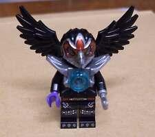Lego Legends of Chima - Razar Figur Vogel schwarz mit Flügeln und Maske Bird Neu