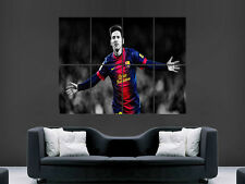 LIONEL MESSI  BARCELONA FC LEGEND  FOOTBALL  ART WALL LARGE IMAGE GIANT POSTER