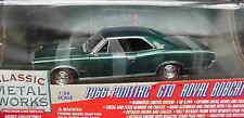 1966 Pontiac GTO Twilight Turquoise 1:24 Classic Metal Works 10106
