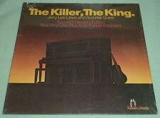 JERRY LEE LEWIS The Killer, King  LP Blue Vinyl Rare Orion Elvis Impersonator