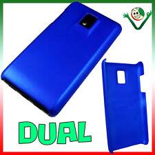 Custodia back cover BLU per LG Optimus Dual 2x BLUE