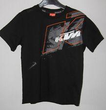KTM - Tee Shirt Kids Splatter  - Noir - 6 ans neuf