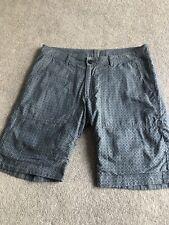"Woolrich Reversible Cotton Shorts Size 30"""