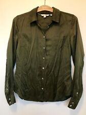 Boden Silk Mix Shirt Size 12