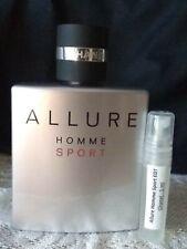 Chanel ALLURE HOMME SPORT Cologne - 5ml Sample, 100% Fresh  (EDT) Trial Travel