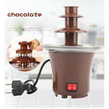 New Stainless Steel Chocolate Fondue Fountain For Dipping - Great Gift Free Post
