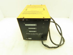 Anpat Electric Mfg 36V Battery Charger 25A For 150 Amp Hour Lead Acid 18 Cell