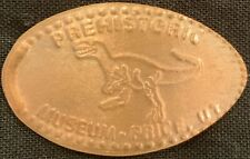 Allosaurus Dinosaur - Prehistoric Museum Utah Copper Pressed Penny