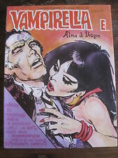 Vampirella E... Alma di Dragon #6 1978  Italian Language Over-size B&W Comic