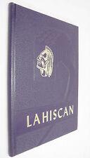 Lahiscan 1965 High School Yearbook Lakota North Dakota Purple Hardback Rare